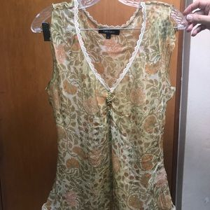 Tops - Set of blouse and skirt